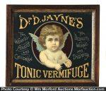 Dr. Jayne's Tonic Vermifuge Sign