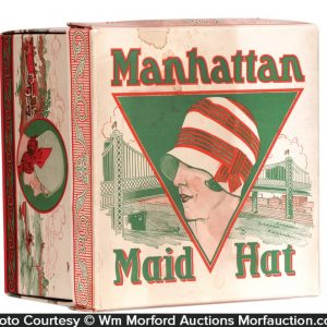 Manhattan Maid Hat Box