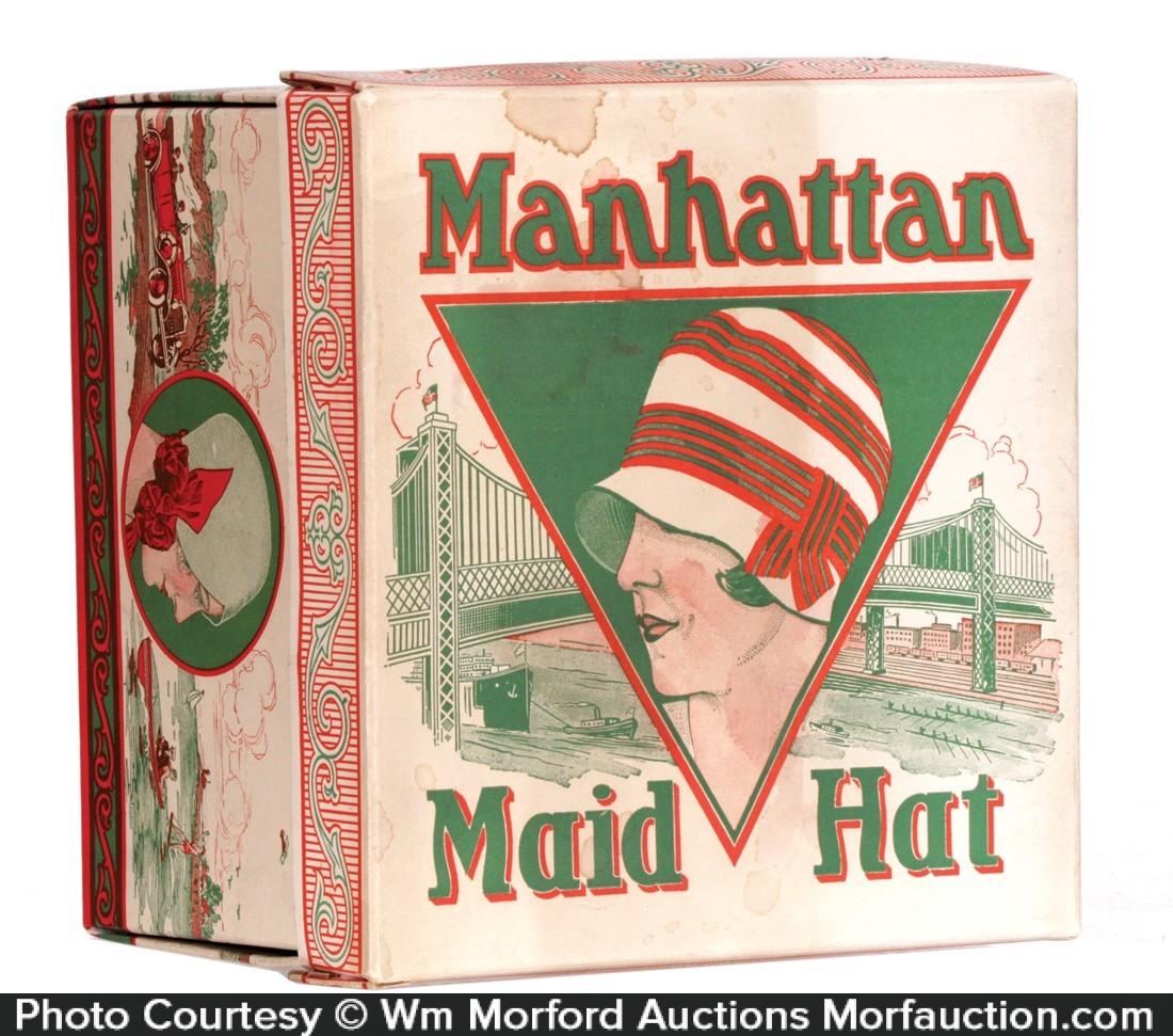 Manhattan Maid Hat Box
