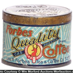 Forbes Coffee Can Sample