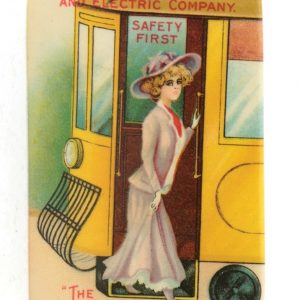 Little Rock Railway Pocket Mirror