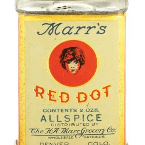 Marr's Red Dot Spice Tin