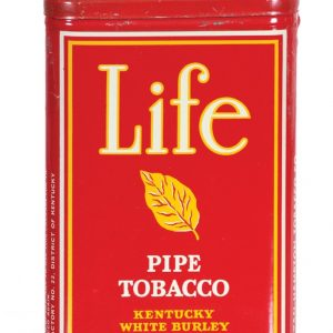Life Pipe Tobacco Tin