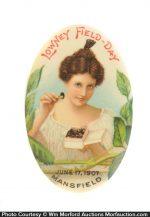 Lowney's Field-Day Chocolates Pocket Mirror