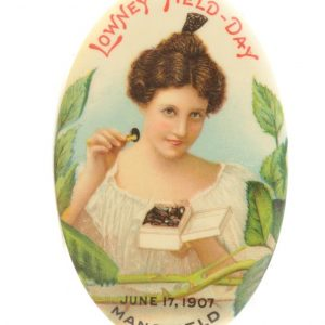 Lowney's Field-Day Chocolates Pocket Mirror
