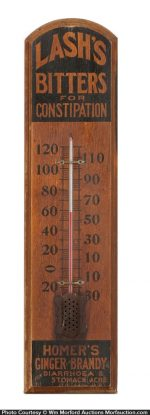 Lash's Bitters Thermometer