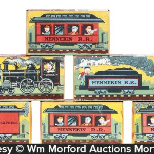 Mennekin Railroad Blocks Set