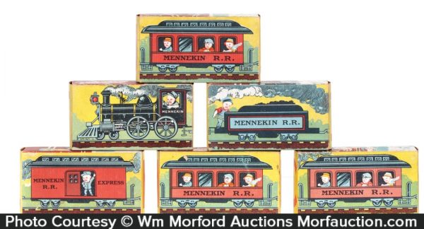 Mennekin Railroad Blocks Set