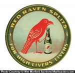 Red Raven Splits Tray