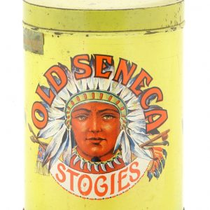 Old Seneca Stogies Tin