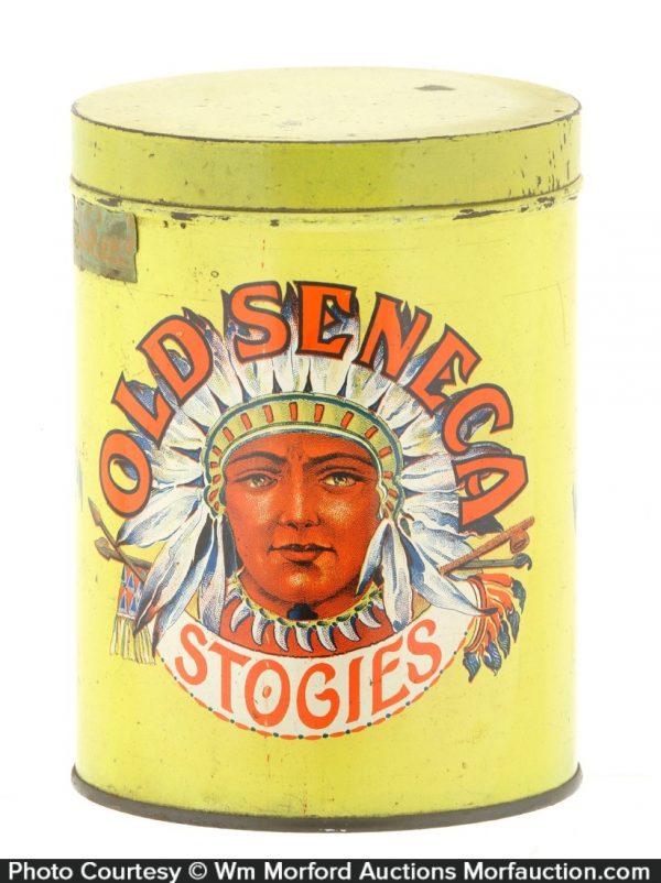 Old Seneca Stogies Tin