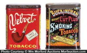 Sample Tobacco Tins