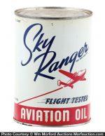 Sky Ranger Aviation Oil Can