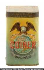 Coiner Cigar Can