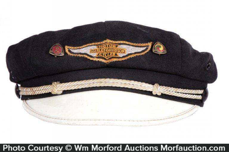Vintage Harley Motorcycle Hat