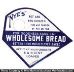 Nye's Wholesome Bread Pot Scraper