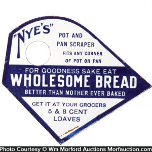 Nye's Wholesome Bread Pot Scraper