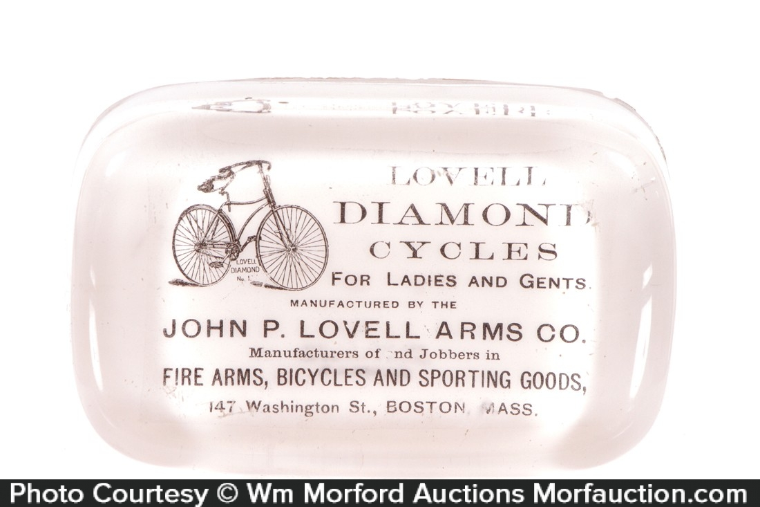 Lovell Diamond Cycles Paperweight