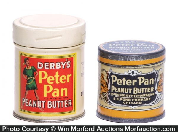 Peter Pan Peanut Butter Samples Tins