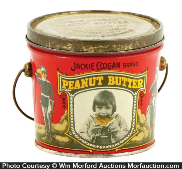 Jackie Coogan Peanut Butter Pail