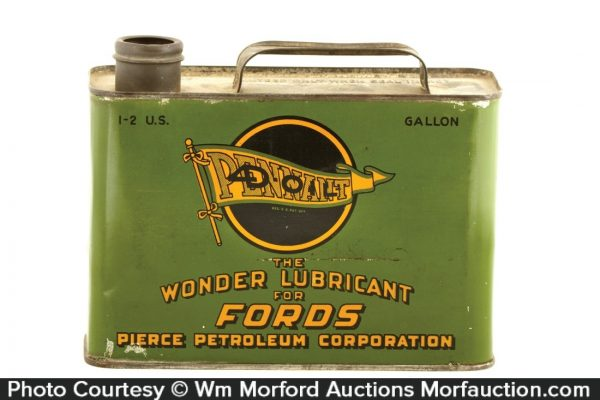 Pennant Motor Oil For Fords Can