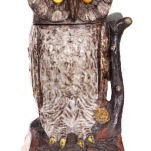 Owl Mechanical Bank