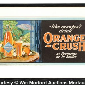Orange Crush Trolley Sign