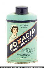 Noxacid Tooth Powder Tin