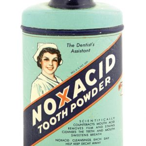 Noxacid Tooth Powder Tin