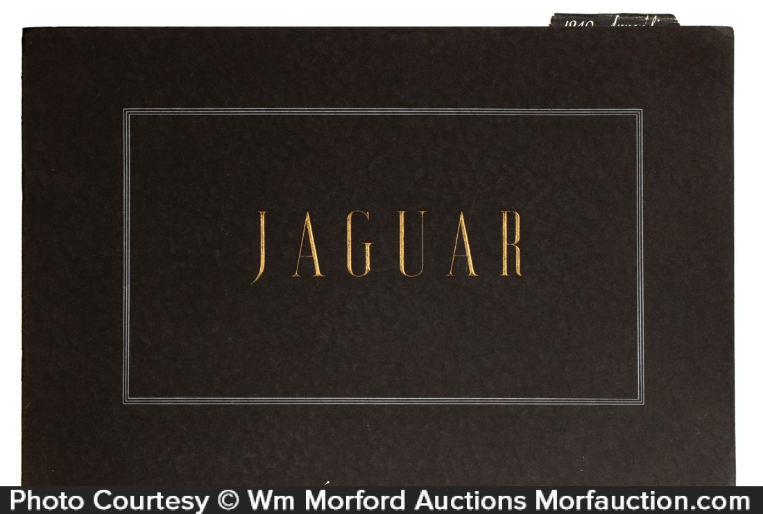 1940 Jaguar Catalog