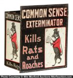 Common Sense Exterminator Display