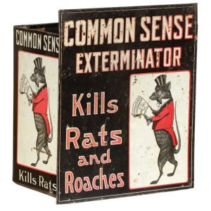 Common Sense Exterminator Display