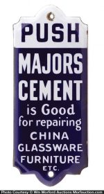 Majors Cement Door Push