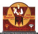 Boston Garters Display