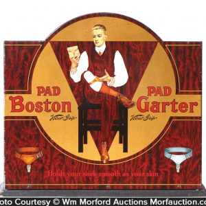 Boston Garters Display