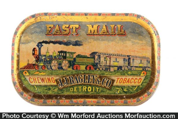 Fast Mail Chewing Tobacco Tin