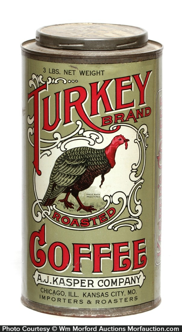 Turkey Coffee Tin