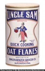 Uncle Sam Oats Box