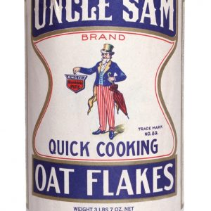 Uncle Sam Oats Box