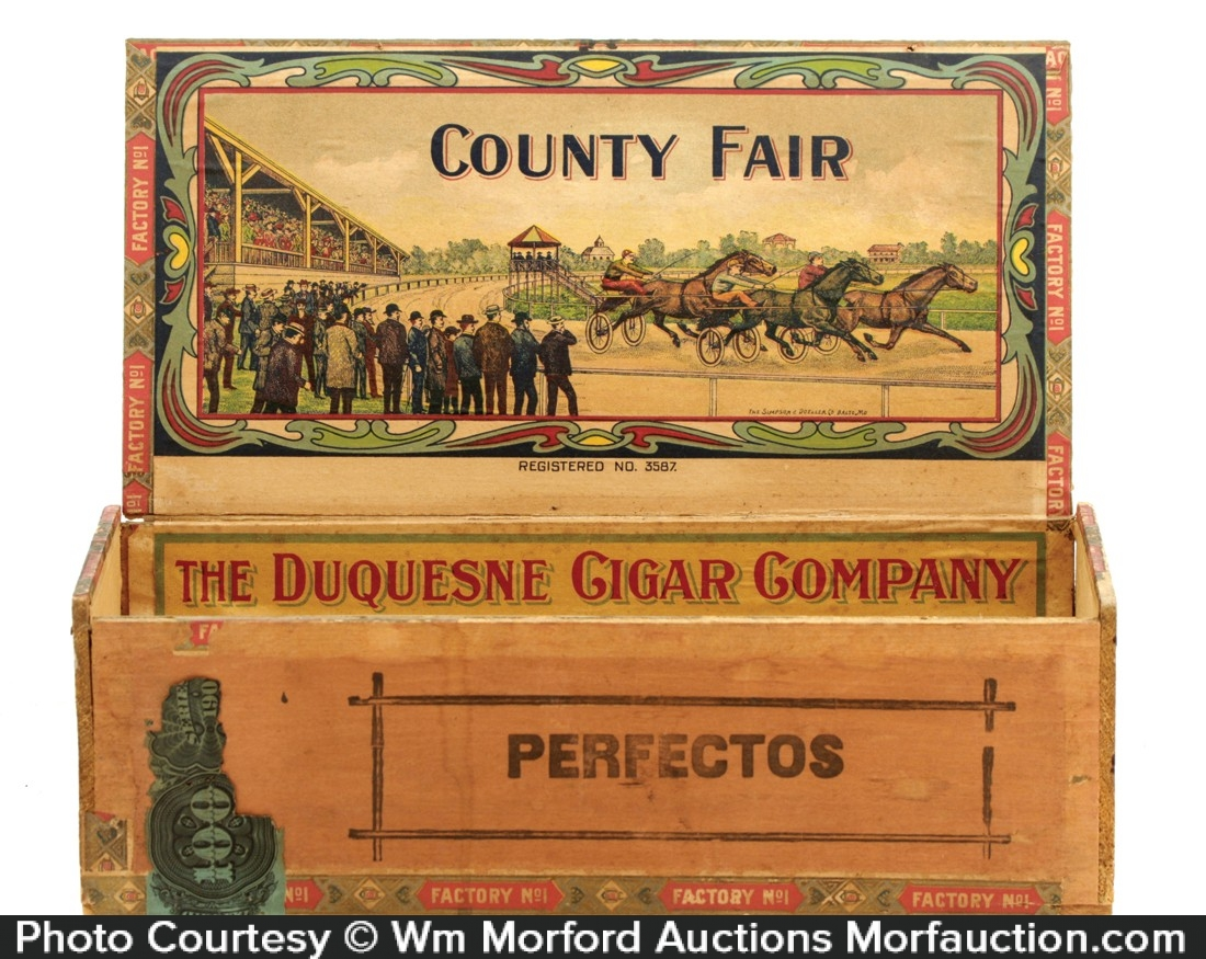 County Fair Cigar Box