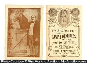 Vintage Dr. Daniels' Veterinary Products