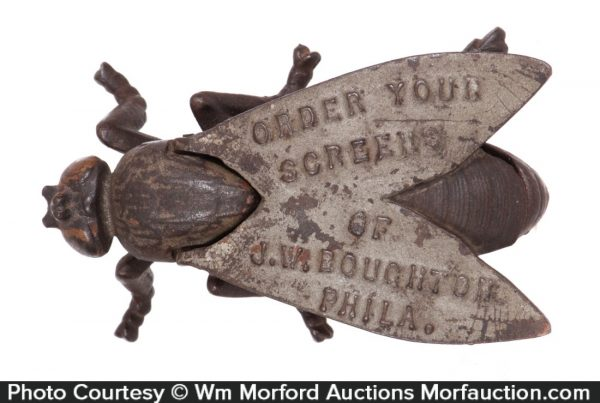 Cast Iron Advertising Fly