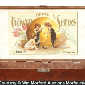 Bowen's Flower Seeds Box