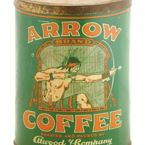 Arrow Coffee Tin