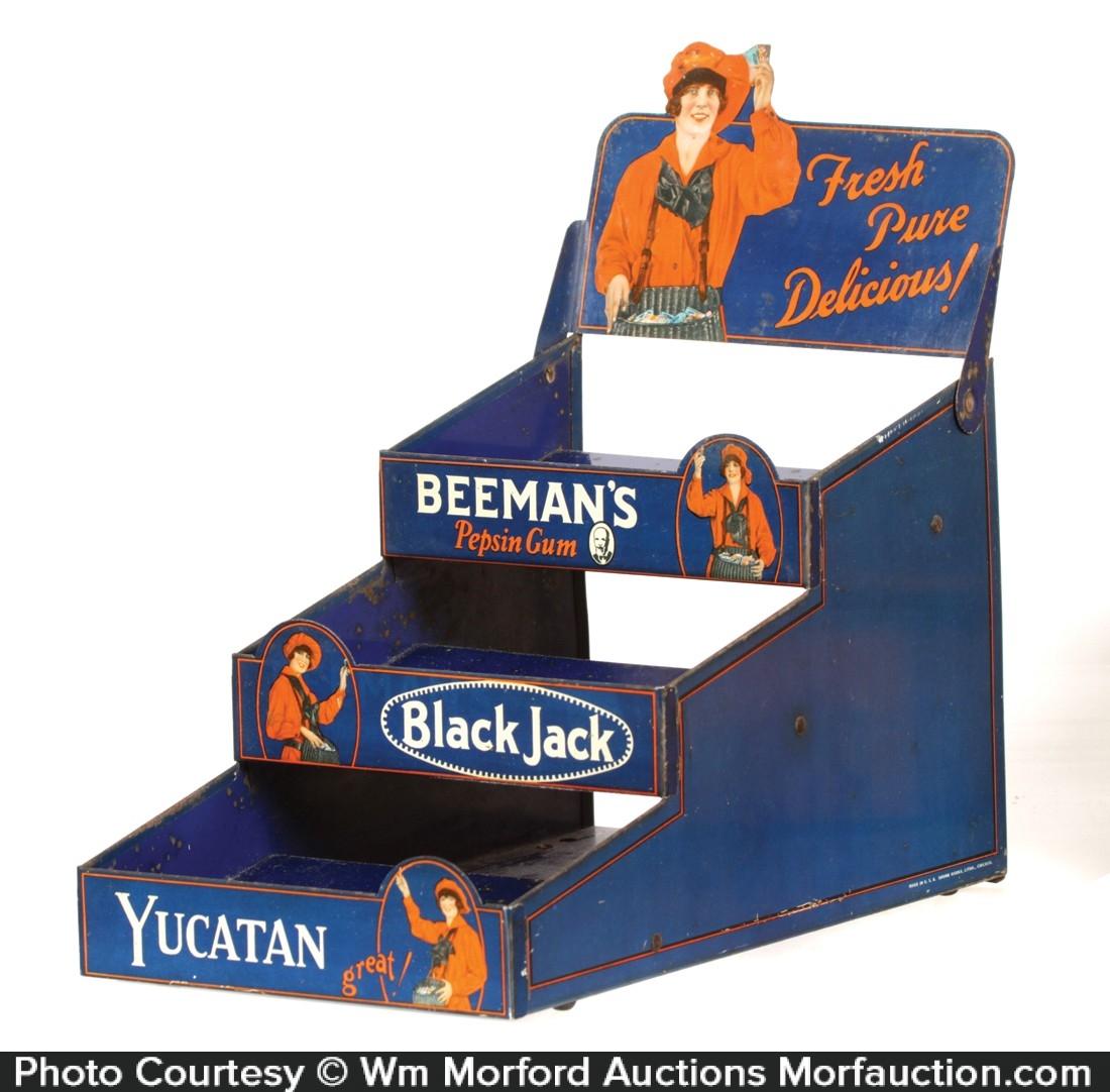 Beeman's Gum Display Rack