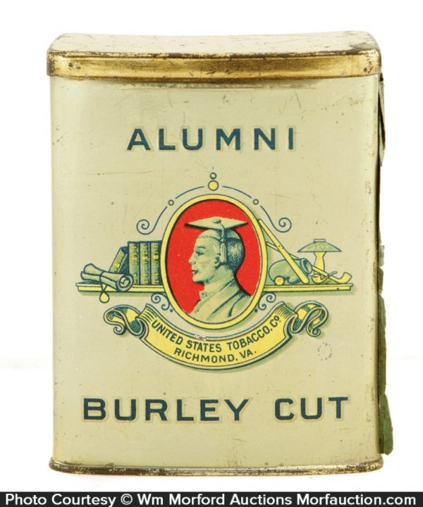 Alumni Tobacco Tin