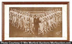 1910 Connie Mack Baseball Poster