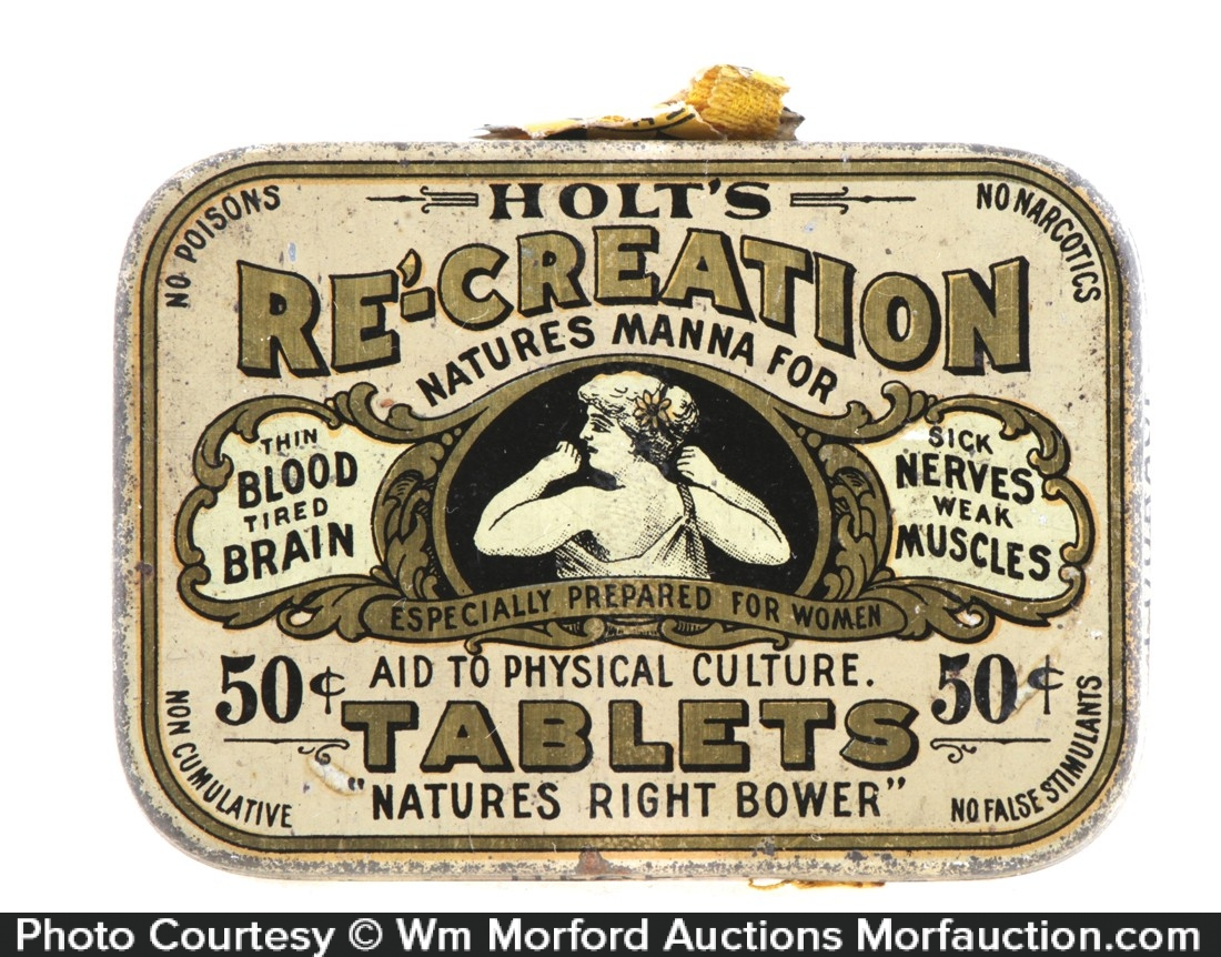 Holt's Re-Creation Tablets Tin