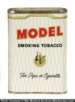 White Model Tobacco Tin