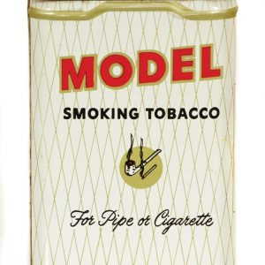White Model Tobacco Tin